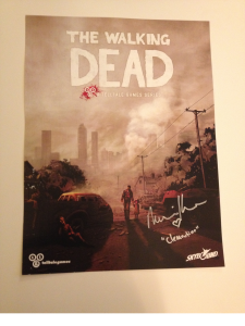 10.5x14 Autographed Poster
